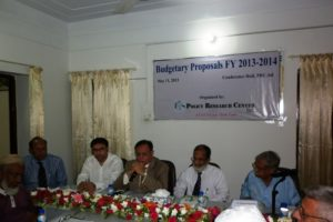Press Release PRC Budgetary Proposal FY 2013-14 1
