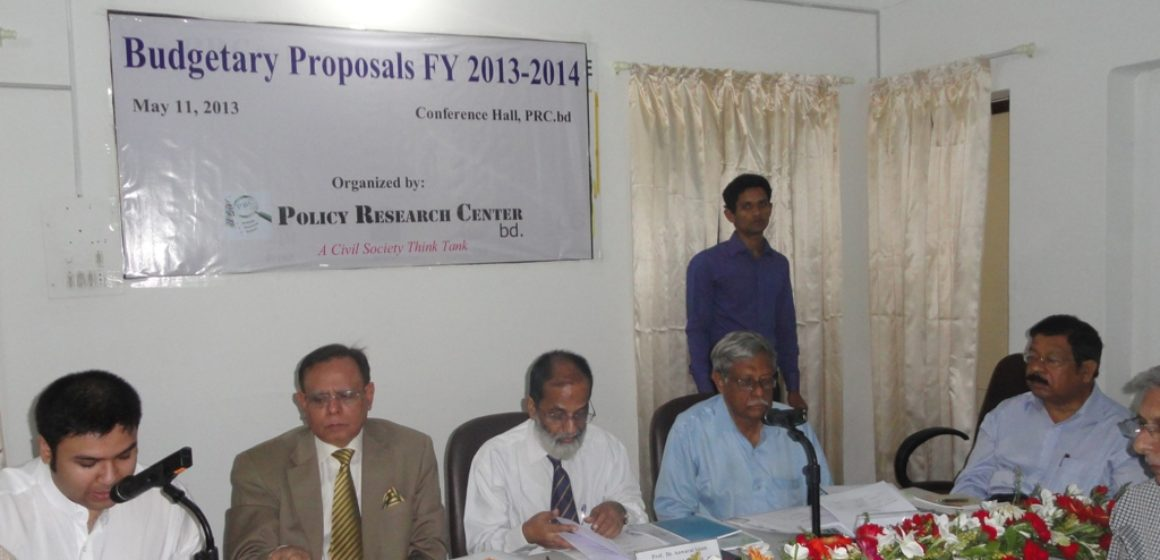 Press Release PRC Budgetary Proposal FY 2013-14 2