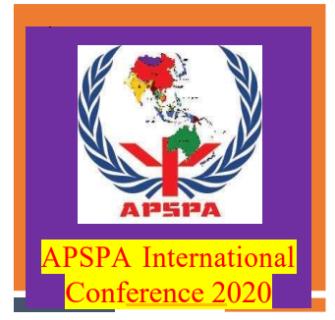APSPA International Conference 2020 NIE, Colombo, Sri Lanka   13 – 14 February 2020 For More info: http://www.apspa.info/